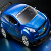 3D Blue Car