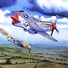 Art Painting - Air Combat 5